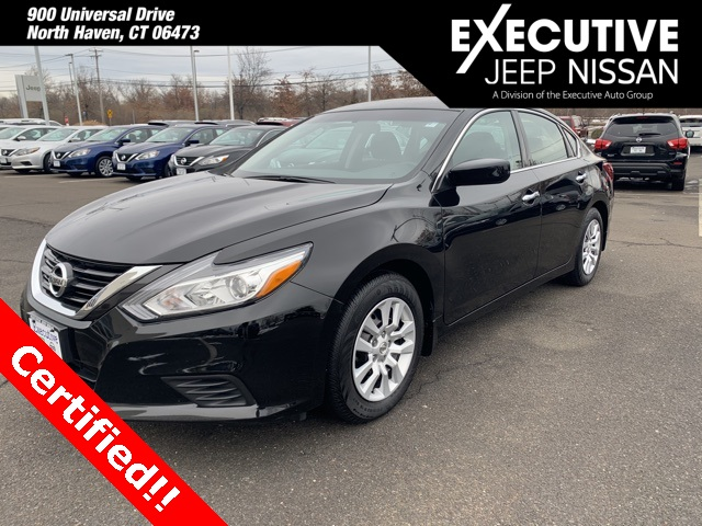 Certified Pre-Owned 2018 Nissan Altima 2.5 S