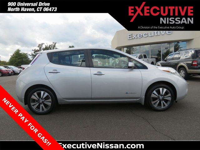 Certified Pre-Owned 2015 Nissan Leaf SL