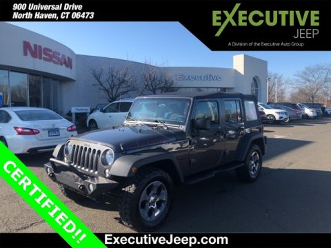 Certified Pre-Owned 2017 Jeep Wrangler Unlimited Sport