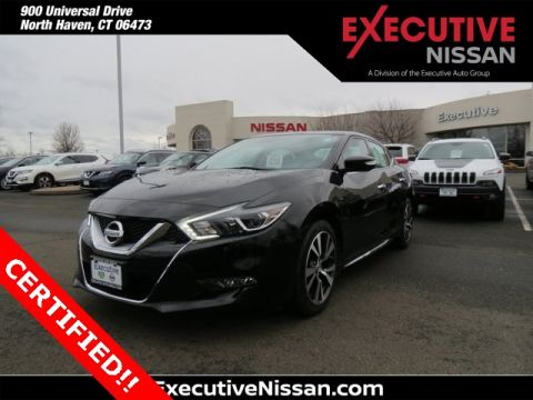 Certified Pre-Owned 2016 Nissan Maxima Platinum